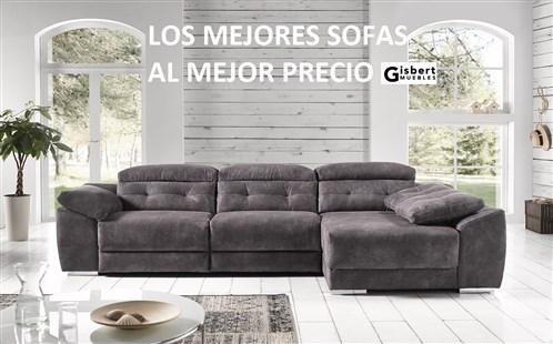 Muebles gisbert mobiliario sof s colchones decoraci n for Catalogos sofas precios