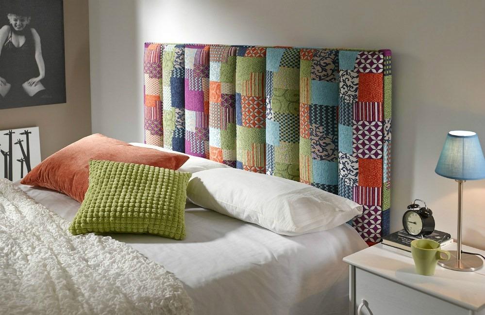Cabecero tapizado algor - Cabeceros de cama tapizados baratos ...