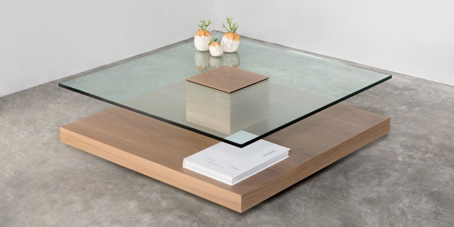 mesa de centro totem. Black Bedroom Furniture Sets. Home Design Ideas