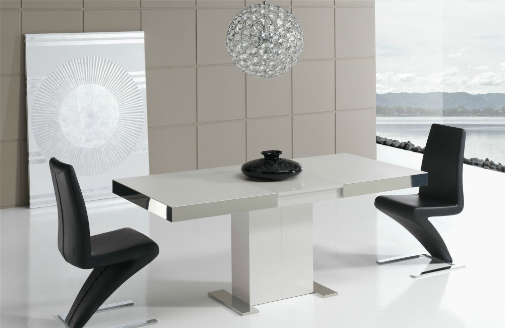 Mesa de comedor extensible in tempo - Mesas salon extensibles modernas ...