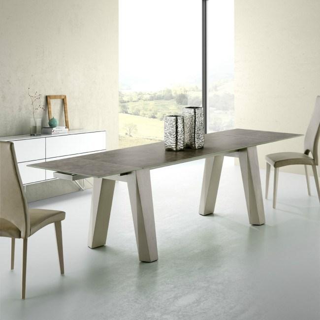 Mesa sumatra madera for Mesa madera extensible