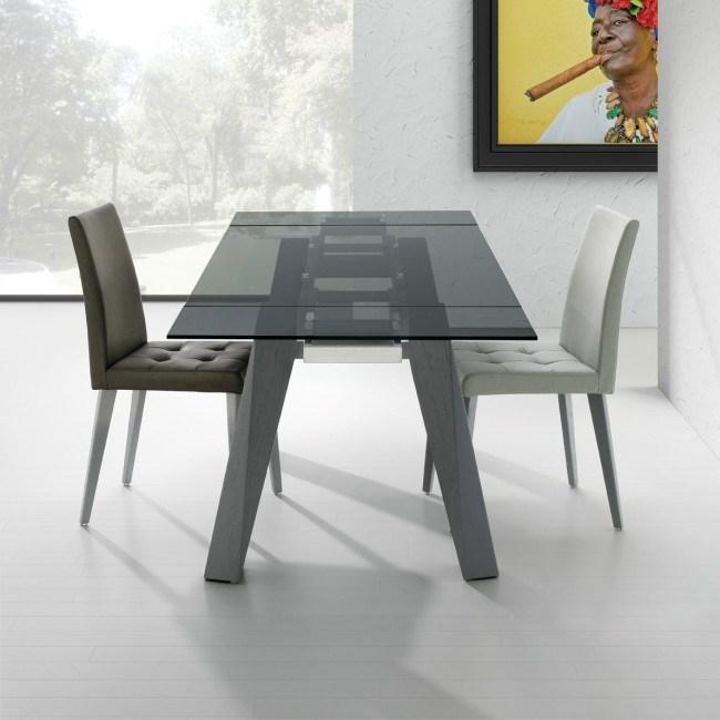 Mesa sumatra madera for Mesas de salon extensibles de madera