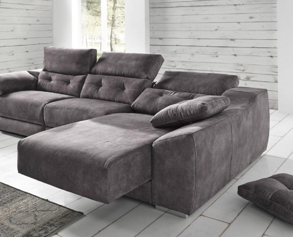 Sofa chaiselongue donosti en diferentes medidas y telas a - Sofas rinconeras a medida ...